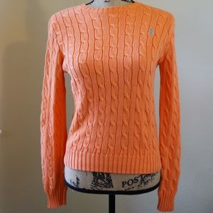 Ralph Lauren Cable Knit Sweater Small